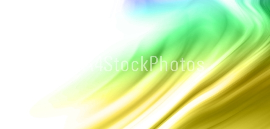 Beautiful Color Wave Background Illustration