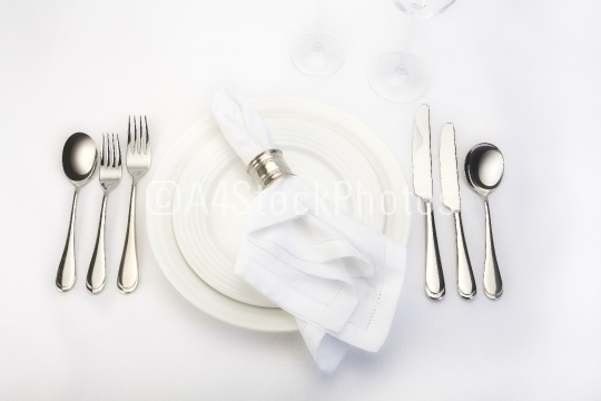 Dinner place setting 2