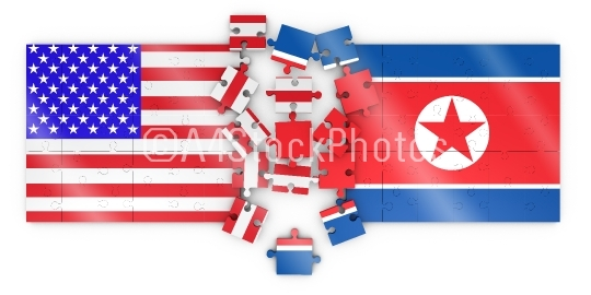 Puzzles of  North Korea and  United States