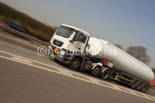 Speeding tanker